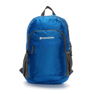 Suissewin Leisure Outdoor Travel Sports mochila retráctil