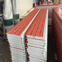 Fireproof metal embossed sandwich 50mm insulated panels