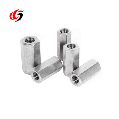 Threaded Rod Splicing Steel Screwed Rebar Coupler