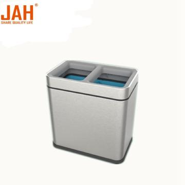 JAH 430 Wastepaper Basket with Recycling Sortable Partition