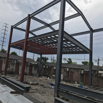 Prefabricated Warehouse Building steel truss s
