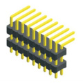 2.54mm Pin Header Dual Row Double Plastic