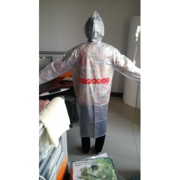 Wholesale Adult PVC Promotional Raincoat