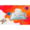 Natural Cotton Wet Wipes for face