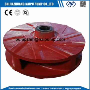 Custom made A05 slurry pump impellers