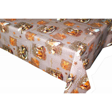 Elegant Tablecloth with Non woven backing Yaya