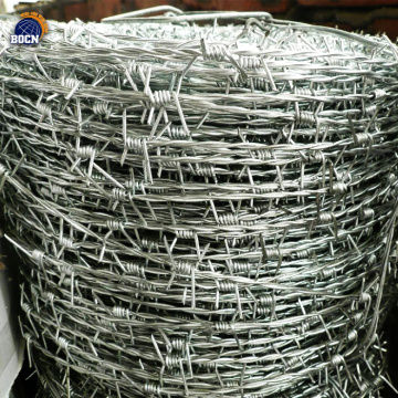 1.6mm 300m high tensile strength barbed wire coil