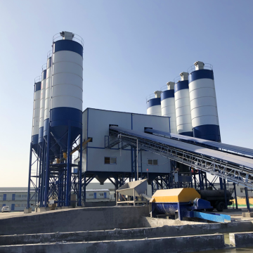 High Precision Concrete batching Plant HZS90 for Sale