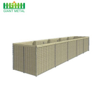 Military Sand Wall Flood Control Protection Hesco Barrier