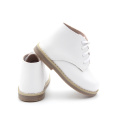 New Design Rubber Unisex Baby Leather Ankle Boots
