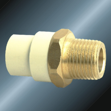 ASTM D2846 Water Supply Cpvc Male Adaptor Brass