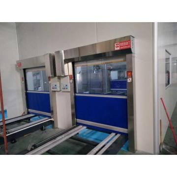 Industrial Automatic Rolling PVC Interieur High Speed ​​Door