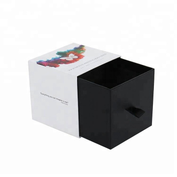 Small Drawer Style Custom Candle Packaging Paper Box