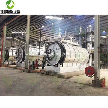 Used Engine Oil Purification Process Machine