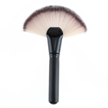 Synthetic hair Face powder fan makeup brush