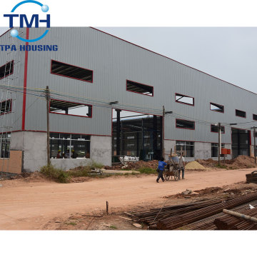 Oem Prefabricated Steel Structural Warehouse Workshop