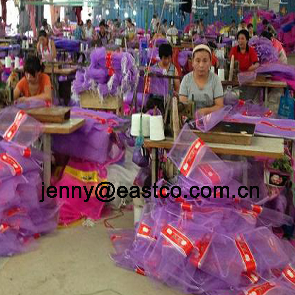 Mesh Net Bag Sack Production Sewing
