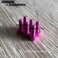 aluminum screw button head cap screw