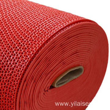 Colorful mesh mat rolls anti-slip function