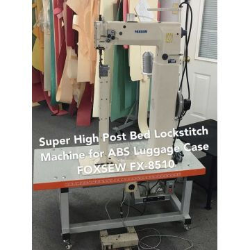 Super High Post Bed Luggage Case Sewing Machine