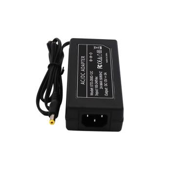 Desktop type 12V DC DVR CCTV Power Adapter