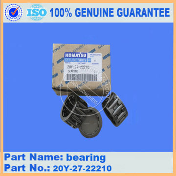 bearing 20Y-27-22210 PC200-7 Komatsu Final Drive Parts