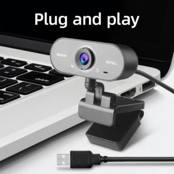 1080P 2K Computer Camera Web Camera USB Plug Free Drive With Microphone Conference Live Camera For PC Computer Laptop