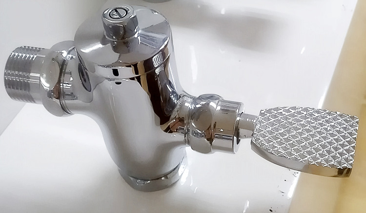 high standard flush valve for sanitary ware