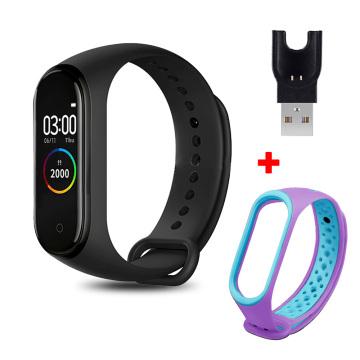 M4 Smart Wristband Waterproof Blood Pressure Heart Rate Monitor FitnessTracker Smart Bracelet M4 Band SmartWatch Sport Pedometer