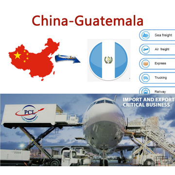 Air shipping service from SZX/HKG/CAN  to guatemala