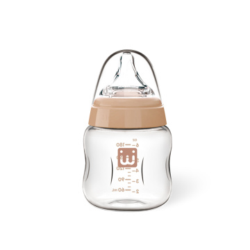 Infant Wide Neck Glass Feeding Bottle180ml