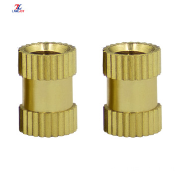 thermo-injection copper nut copper knurled  insert copper