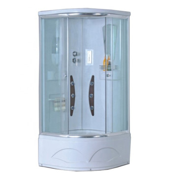 Arc Shape Integrated Fiberglass Shower Room