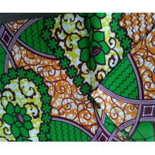 New Design Printed Wax Print Fabric For Dress