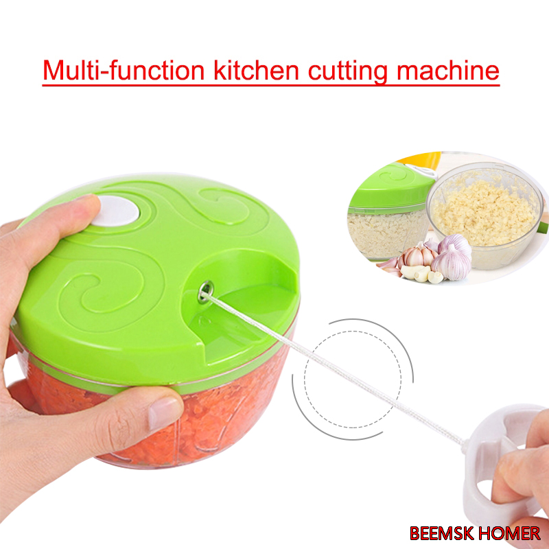 BEEMSK Multi-function Vegetable Slicer manual Carrot Potato Grater Manual Onion Cutter Easy Food Chopper Slicers Kitchen Gadget