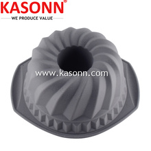 Medium Silicone Bunt Bundt Cake Pan with Grips