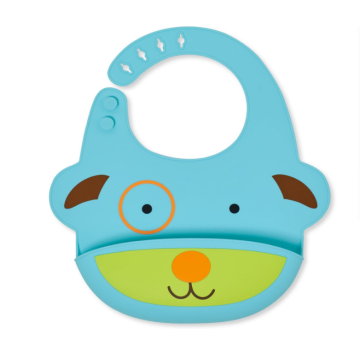 Custom Cute Cartoon Silicone Feeding Bibs