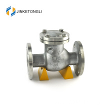"JKTLPC007 backflow swing forged steel flanged 4"" check valve"