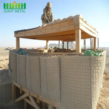 Military Sand Gabion Box Hesco Barrier Wall Fence