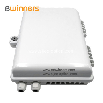 16 Cores FTTH Wall/Pole Mounted Fiber Optic Distribution Box
