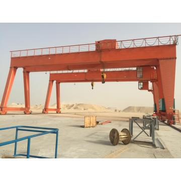 heavy-duty building lifting machine 20t double girder gantry crane