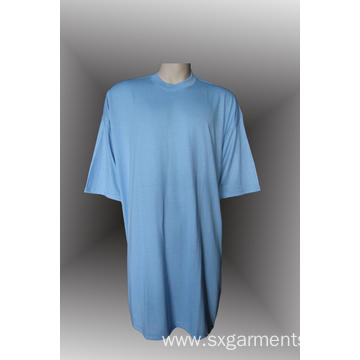 Men's 100% Cotton  Round-Neck T-shirt 160G