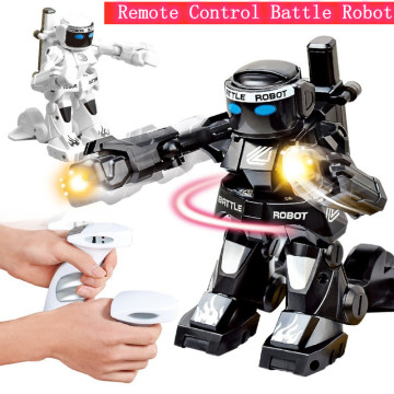 RC Battle Fighting Robot Remote Control Body Sense Control Smart robot with Simulaiton Music Sound intelligent Educational Toys