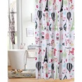 Shower Curtain PEVA Eiffel Tower