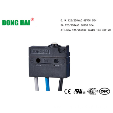 Waterproof IP67 Micro Switch For  Motor Control