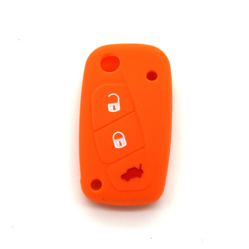 Fiat 3 buttons silicon key cover