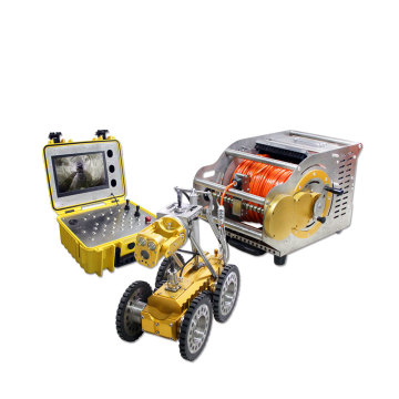 Auto Elevator Sewer Pipe Inspection Crawler