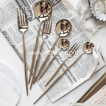 2019 New Design Stainless Steel Cutlery Set