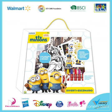 Minions Fun Drawing Kit