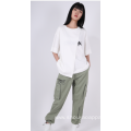 LADIES HIGH-WAIST JOGGING TROUSERS